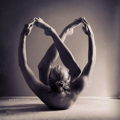 beautiful yoga pose  #YogaPhotography