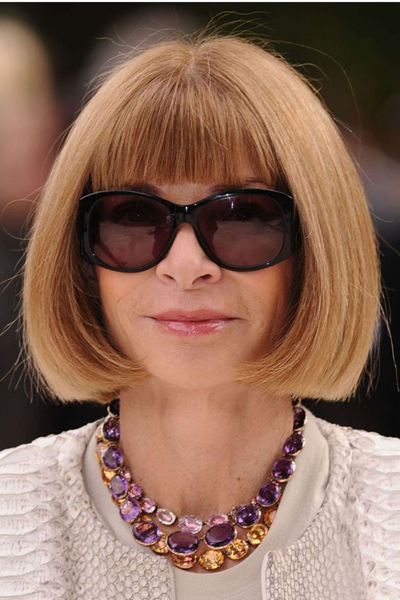 Anna Wintour is Queen of style
