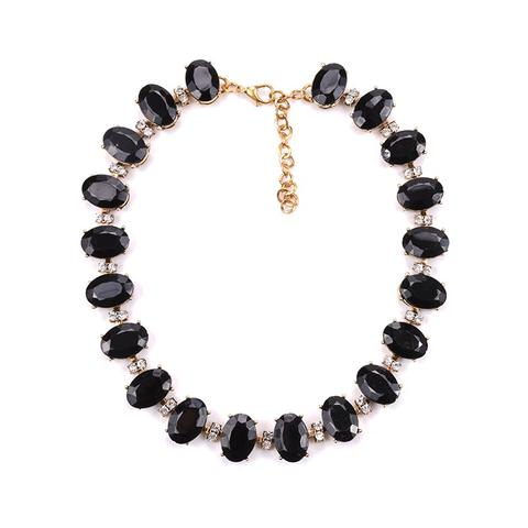 Black gem necklace - contact us for details