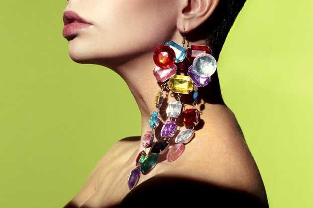 Image result for heavy earrings
